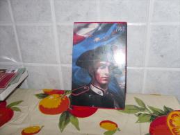 CARABINIERI SCATOLA FIAMMIFERI CERINI MINERVA COPERTINE 1993 CALENDARI NUOVA - Scatole Di Fiammiferi