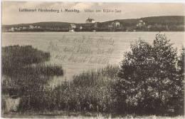 Luftkurort Fürstenberg I Mecklenburg Villen Am Röblinsee 22.4.1919 Datiert - Fürstenberg