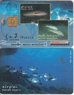 MALTA(chip) - Fish, Xirgien, 05/02, Used - Malte