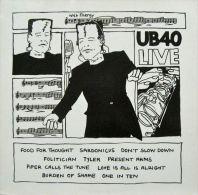 * LP *  UB40 LIVE (Germany 1983 EX-!!!) - Reggae