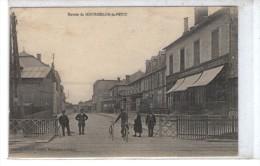 CPA MOURMELON-le-PETIT, Entrée, Animée, 1916 - Autres Communes