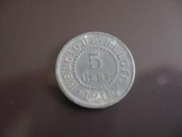 5 Centimes 1915 - Belgique - 03. 5 Centesimi
