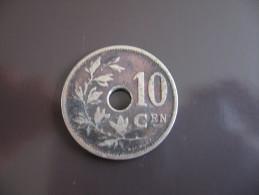 10 Centimes 1903 à Trou - Belgique - 04. 10 Centesimi