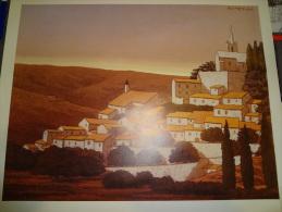 Affiche - Exposition à Saint Paul De Vence - Soteras - Format 69 X 49 Cm - Posters