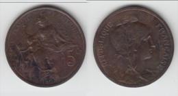 **** 5 CENTIMES 1898 DUPUIS - BRONZE **** EN ACHAT IMMEDIAT - C. 5 Centimes