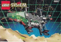 Lego 6897 Espace Police avec plan 100 % Complet voir scan