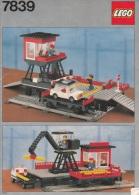 Lego 7839 Trains Terminal autotransport avec plan 100 % Complet voir scan