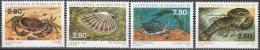 Saint-Pierre & Miquelon 1995 Yvert 614 - 617 Neuf ** Cote (2015) 7.00 Euro Faune Marine - Neufs