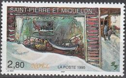 Saint-Pierre & Miquelon 1995 Yvert 623 Neuf ** Cote (2012) 1.70 Euro Vitrine De Noël à Saint-Pierre - Neufs