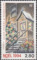 Saint-Pierre & Miquelon 1994 Yvert 608 Neuf ** Cote (2015) 1.70 Euro Entrée De Maison Avec Décor De Noël - Neufs