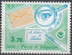 Saint-Pierre & Miquelon 1994 Yvert 606 Neuf ** Cote (2015) 2.00 Euro Salon Du Timbre à Paris - Neufs