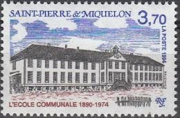 Saint-Pierre & Miquelon 1994 Yvert 607 Neuf ** Cote (2015) 1.70 Euro L´ecole Communale - Neufs