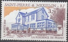 Saint-Pierre & Miquelon 1993 Yvert 584 Neuf ** Cote (2015) 2.00 Euro La Résidence Du Préfet - Neufs