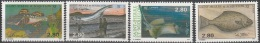 Saint-Pierre & Miquelon 1993 Yvert 580 - 583 Neuf ** Cote (2015) 6.40 Euro Poissons - Neufs
