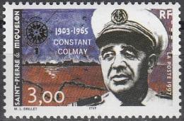 Saint-Pierre & Miquelon 1997 Yvert 641 Neuf ** Cote (2015) 1.70 Euro Constant Colmay - Neufs