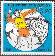 Saint-Pierre & Miquelon 1997 Yvert 643 Neuf ** Cote (2015) 2.20 Euro Le Volley - Neufs