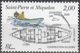 Saint-Pierre & Miquelon 1997 Yvert 645 Neuf ** Cote (2015) 1.40 Euro Le Doris - Neufs