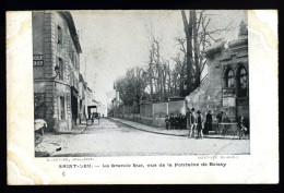 Cpa 95 Saint Leu Grande Rue Vue De La Fontaine De Boissy Parfait état édit: Lemire Saint Leu Précurseur         T 6 - Saint Leu La Foret