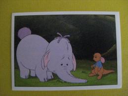 PANINI  Winnie L'ourson Et L'éfélant / Disney /  N°152 - Panini
