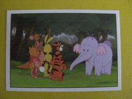 PANINI  Winnie L'ourson Et L'éfélant / Disney /  N°201 - Panini