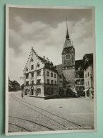 ZYTTURM Mit Grabenstrasse - Anno 1934 ( Zie Foto Voor Details ) !! - ZG Zug