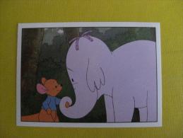 PANINI  Winnie L'ourson Et L'éfélant / Disney /  N°202 - Panini