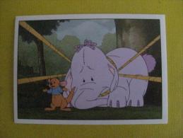PANINI  Winnie L'ourson Et L'éfélant / Disney /  N°184 - Panini