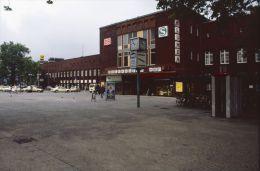 Railway Station Colour Slide Strassenbahn, Germany, Oberhausen 06-07-1996 E-17 - Trains