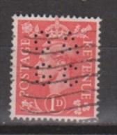 Engeland United Kingdom, Great Britain, Angleterre, Bretagne, King George VI, SG 486, Y&T Used PERFIN DAGC - 1902-1951 (Koningen)