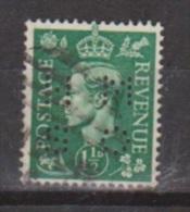 Engeland United Kingdom, Great Britain, Angleterre, Bretagne, King George VI, SG 505, Y&T Used PERFIN HMSO - 1902-1951 (Koningen)