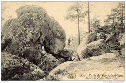 77-Forêt De Fontainebleau-Rocher De Pilatus - Fontainebleau