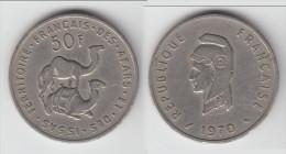 **** DJIBOUTI - TERRITOIRE DES AFARS ET DES ISSAS - 50 FRANCS 1970 **** EN ACHAT IMMEDIAT !!! - Djibouti