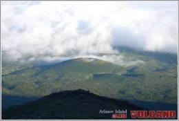 Alaid Atlasov Island Volcanoe Postage Card 3268-1 - Cartes Postales