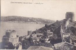 Ak - Cpa CONSTANTINOPLE - Roumeli Hissar - Turchia