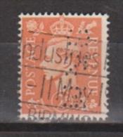 Engeland United Kingdom, Great Britain, Angleterre, Bretagne, King George VI, SG 488, Y&T Used PERFIN S&M - 1902-1951 (Koningen)