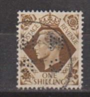 Engeland United Kingdom, Great Britain, Angleterre, Bretagne, King George VI, SG 475, Y&T Used PERFIN MNOS - 1902-1951 (Koningen)