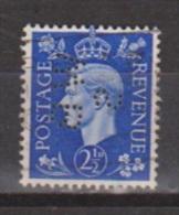 Engeland United Kingdom, Great Britain, Angleterre, Bretagne, King George VI, SG 466, Y&T Used PERFIN WBS - 1902-1951 (Koningen)
