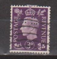 Engeland United Kingdom, Great Britain, Angleterre, Bretagne, King George VI, SG 467, Y&T Used PERFIN LB - 1902-1951 (Koningen)