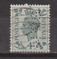 Engeland United Kingdom, Great Britain, Angleterre, Bretagne, King George VI, SG 468, Y&T Used PERFIN S&M - 1902-1951 (Koningen)