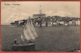 ROVIGNO ( Rovinj ) - Istria ( Croatia ) * Travelled 1915. * Rovigno D'Istria * Croazia Kroatien Istra - Croatia
