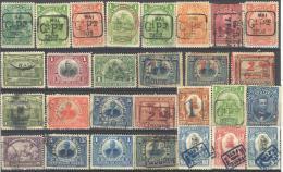 3Rv-711: Restje Van 28 Zegels HAITI :  ...om Verder Uit Te Zoeken.  ( Met Scharnierresten.... Uit Oude Albums...) - Haïti
