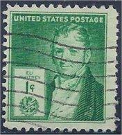 USA  /  États-Unis   1940  #  889  ( Eli  Whitney ) - Oblitérés