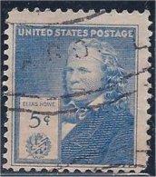 USA  /  États-Unis   1940  #  892  ( Elias  Howe ) - Oblitérés
