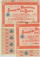 Plantations De La Busira, 2 Titres - Afrique