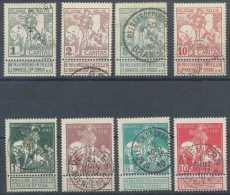 N° 84/91, Caritas, St Martin Partageant Son Manteau, Série Complète, Voir Obl. - 1910-1911 Caritas
