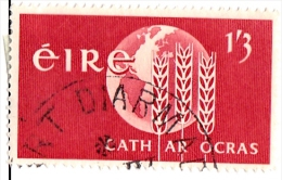 Ireland Scott  187 Used VF  Freedom From Hunger - 1949-... Republic Of Ireland