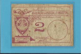 FIGUEIRA DA FOZ - CÉDULA De  2 CENTAVOS - ND - PORTUGAL - EMERGENCY PAPER MONEY - NOTGELD - Portugal