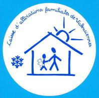 AUTOCOLLANT CAISSE D'ALLOCATIONS FAMILIALES DE VALENCIENNES - Aufkleber