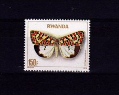 V] 1 Timbre Stamp ** Rwanda Yv. 875 Papillons Butterfly Insecte Insect - Papillons