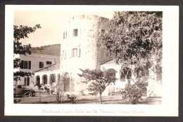 UV1) St. Thomas - Bluebeard Castle Hotel - Real Photo Postcard - Isole Vergini Americane